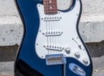 Test de la guitare Fender Player Stratocaster