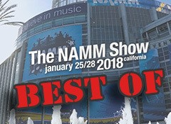 Le Best Of du NAMM 2018