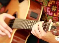 Bien déconner : le niveau du guitariste