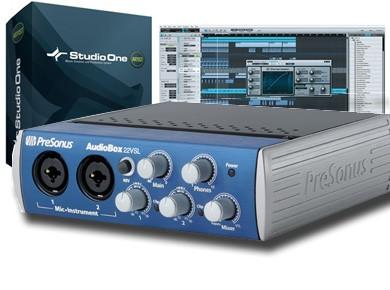 Test de la Presonus AudioBox 22VSL