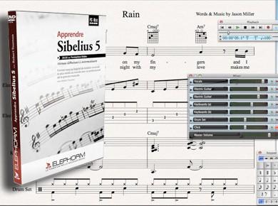 Extrait de la formation Elephorm Apprendre Sibelius 5