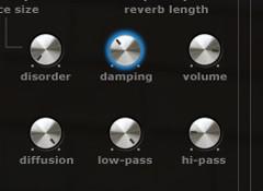 Le «Damping», ou amortissement, dans les réverbes