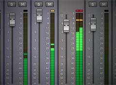 Les niveaux d'enregistrement