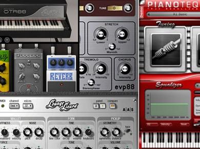 Comparatif de 4 pianos électriques virtuels modéllisés
