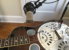 L'enregistrement des guitares à résonateur