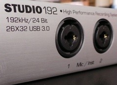 Test de l'interface audionumérique Presonus Studio 192