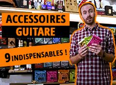 Quels sont les accessoires indispensables pour la guitare ?