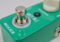 Mooer Green Mile : test de la pédale d'overdrive