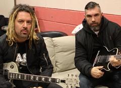 Interview de Yann Heurtaux et Frédéric Duquesne, guitaristes du groupe Mass Hysteria
