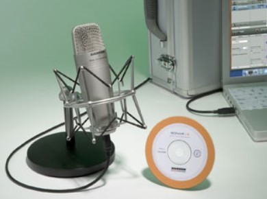 Test du micro à condensateur USB Samson C01U