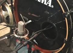 L'enregistrement de la batterie - Aligner les prises de grosse caisse