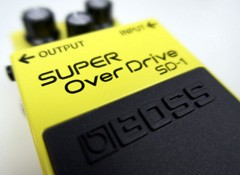 Test de la pédale d'overdrive Boss SD-1