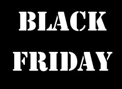 Retrouvez ici toutes les promos du Black Friday