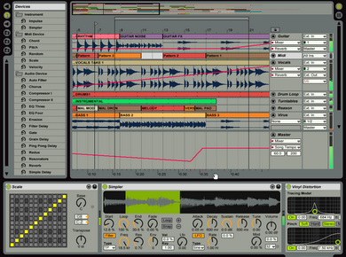 Test d'Ableton Live 4