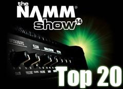 Les 20 produits les plus chauds du NAMM Show 2014