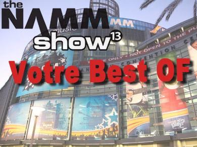 Les produits préférés des AFiens au NAMM 2013