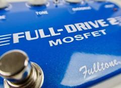 Test de la pédale d'overdrive Fulltone Full-Drive 2 Mosfet