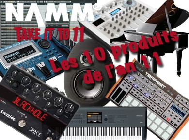 Le best of du NAMM 2011