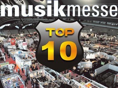Les 10 meilleurs produits du Musikmesse 2012