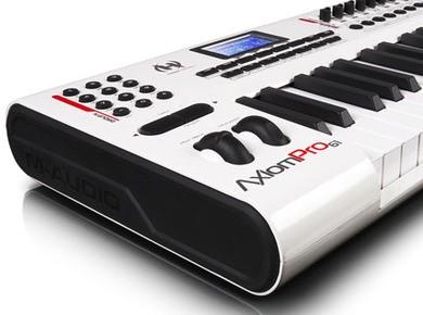 Test de L'Axiom Pro 49 de M-Audio