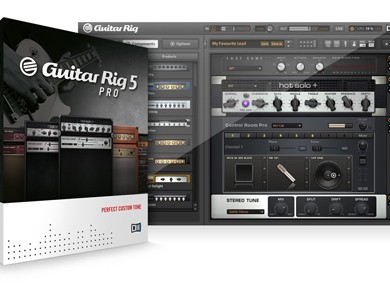Test du Native Instruments Guitar Rig Pro 5