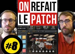 On refait le patch #8 : Test du Groove Agent 4 de Steinberg