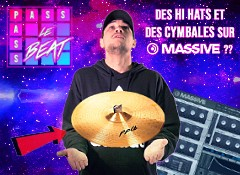 Crée des hi hats et des cymbales avec Massive