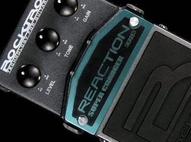 Test des Rocktron Reaction Series Distorsion 1, Super Charger, Super Booster