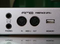 Test de l'interface audio RME Fireface UFX+