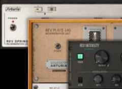 Test des réverbes logicielles Arturia Rev Spring-636, Intensity & Plate-140