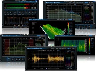 Test du Blue Cat Audio Analysis Pack