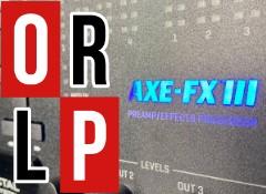 Test de l'AXE-FX III de Fractal Audio Systems