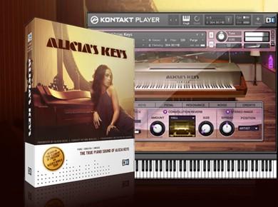 Test du Native Instruments Alicia's Keys
