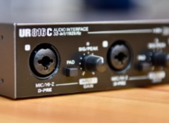 Test de l'interface audio Steinberg UR816C