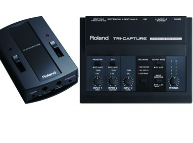 Test des Roland Duo-Capture et Tri-Capture