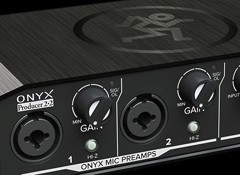 Test de l'interface audio Mackie Onyx Producer 2-2
