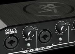 Test de l'interface audio Mackie Onyx Producer 2-2