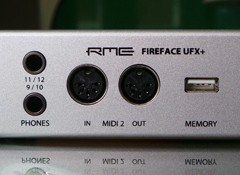 Test de l'interface audio RME Fireface UFX+