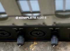 Test de l'interface audio Native Instruments Komplete Audio 6 MK2