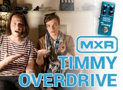 Test de la pédale MXR Custom Shop Timmy CSP027