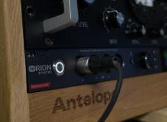 Test de l'interface Orion Studio Synergy Core d'Antelope