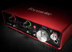 Test de l'interface audio Focusrite Scarlett2 2i2