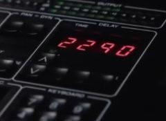 Test du délai logiciel TC Electronic TC2290-DT