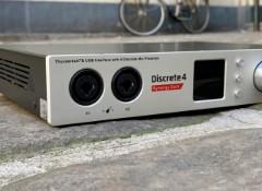 Test de l'interface audio Antelope Discrete 4 Synergy Core