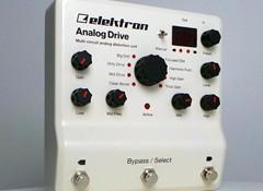 Test de la pédale de saturation Elektron Analog Drive
