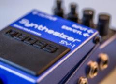 Test de la pédale Boss SY-1 Synthesizer