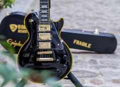 Test de l'Epiphone Joe Bonamassa Black Beauty Les Paul Custom
