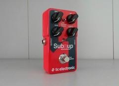Test de l'octaver pour guitare et basse TC Eletronic Sub'n'up