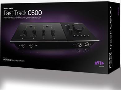 Test de l'AVID M-Audio Fast Track C600