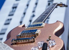 Test de l'Epiphone SG Muse - Smoked Almond Metallic
